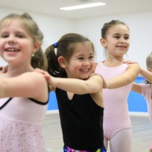Group of students loving their dance lessons at DansationsWNY