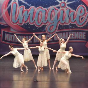 Dansations students at dance competition challenge